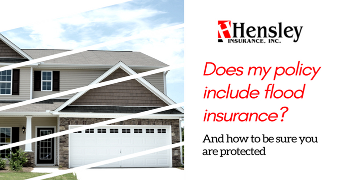 flood1 - Is Flood Insurance Included in My Homeowners Policy?
