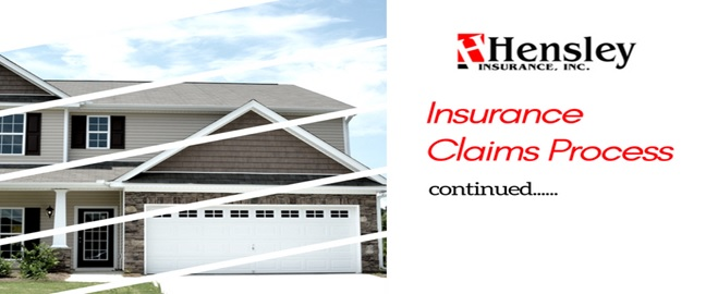 Claims 1 - More on the Insurance Claims Process