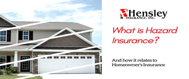 hazard1 - More on Hazard Insurance